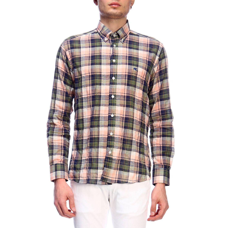 Рубашка Мужское Etro зеленый 1
