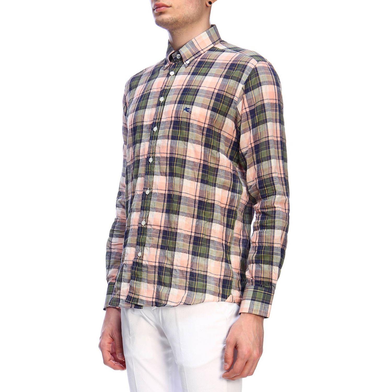 Рубашка Мужское Etro зеленый 2