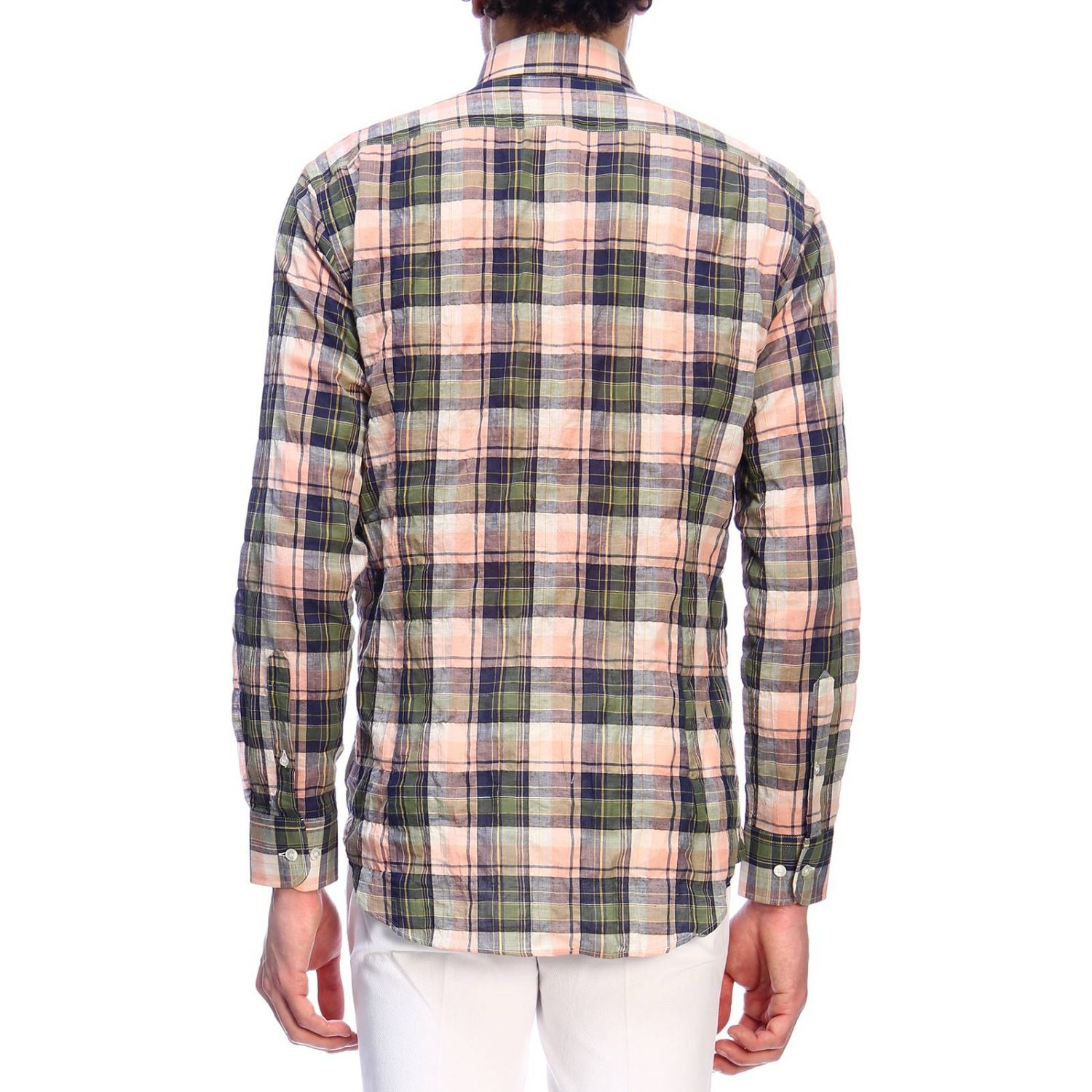 Shirt men Etro green 3