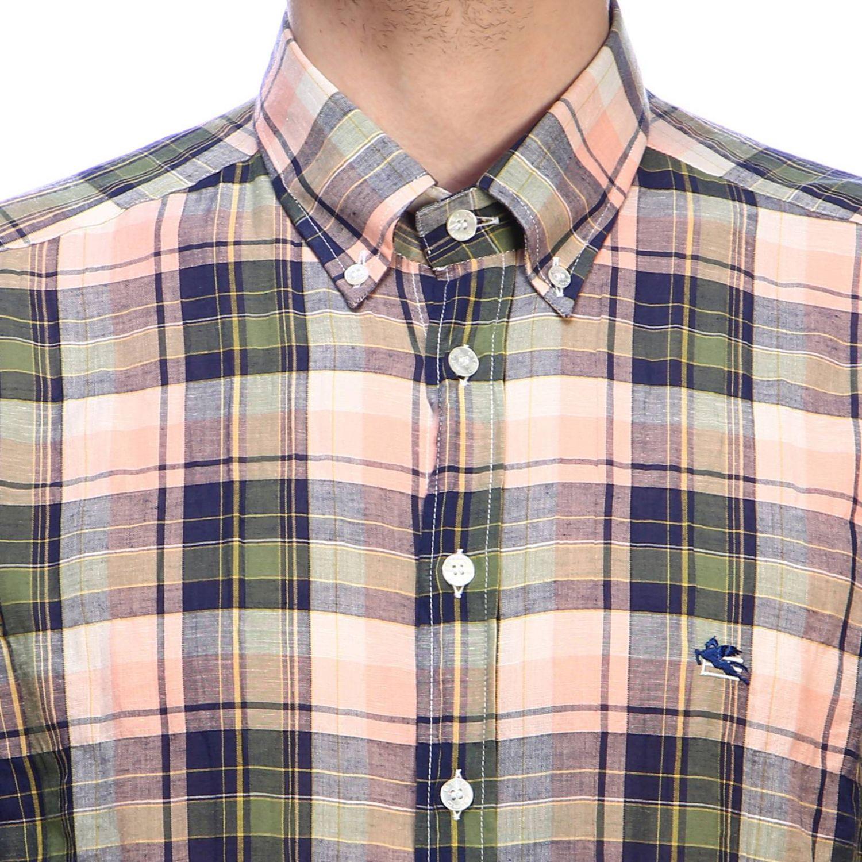 Рубашка Мужское Etro зеленый 4