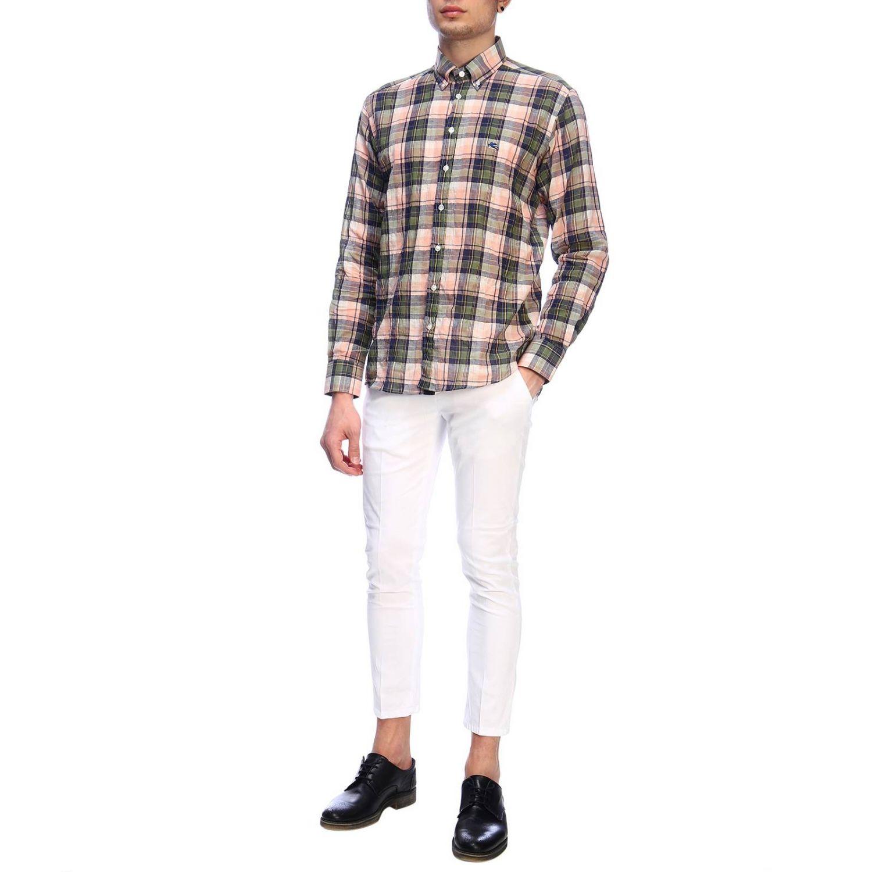 Рубашка Мужское Etro зеленый 5