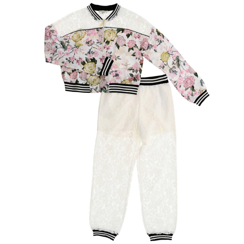 Anzug kinder Twin Set bunt 1
