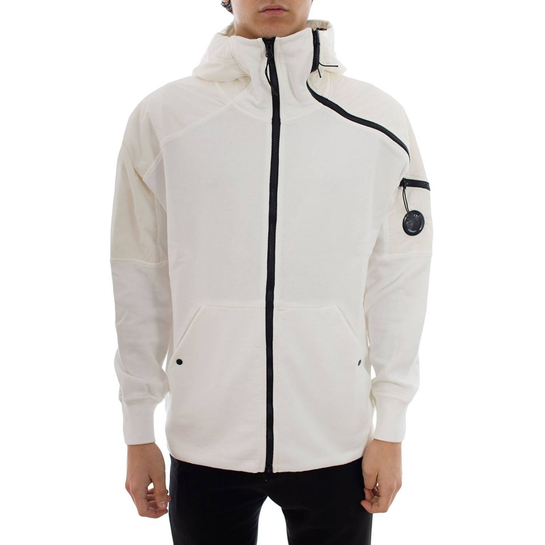 Sweatshirt men C.p. Company white 1