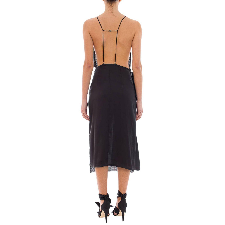 Dress women Paco Rabanne black 3