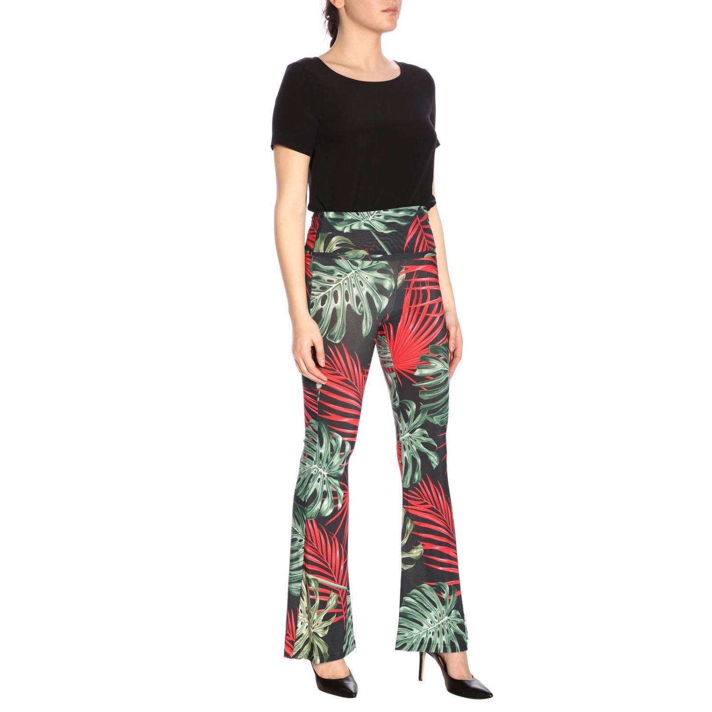 Trousers women Mc2 Saint Barth multicolor 4