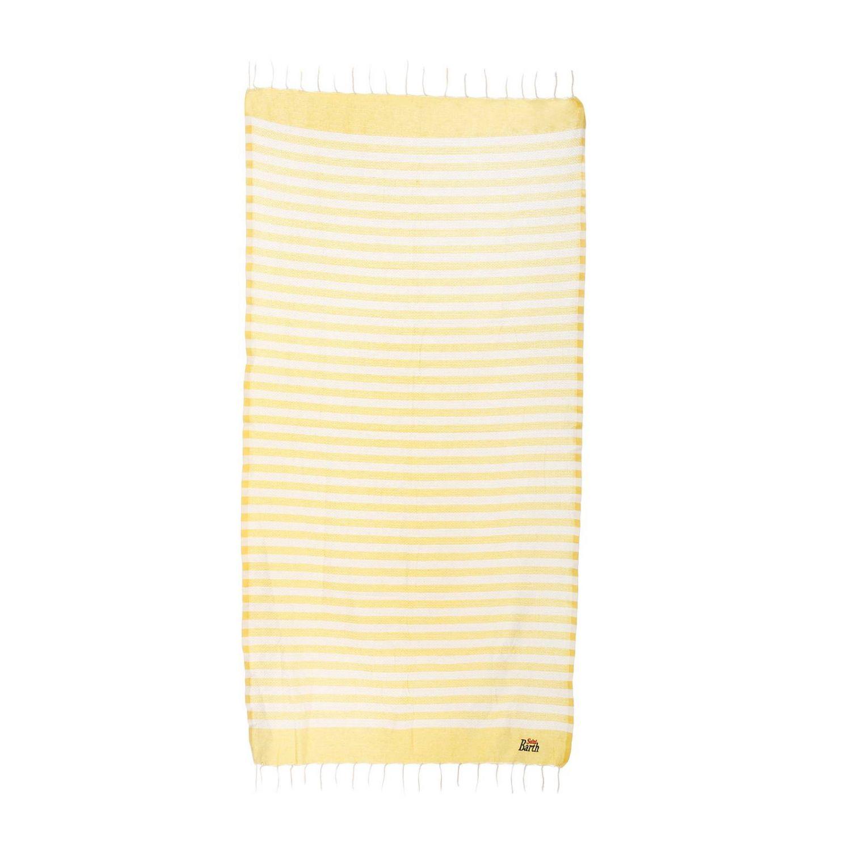Beach towel men Mc2 Saint Barth yellow 1