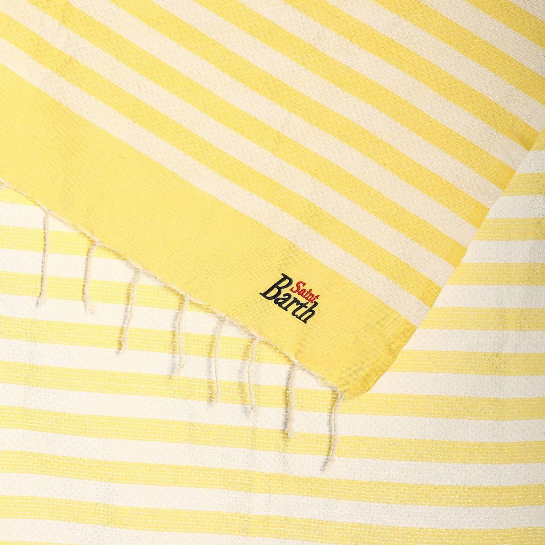 Beach towel men Mc2 Saint Barth yellow 2