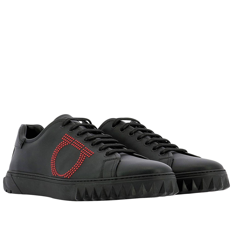 Chaussures homme Salvatore Ferragamo noir 2