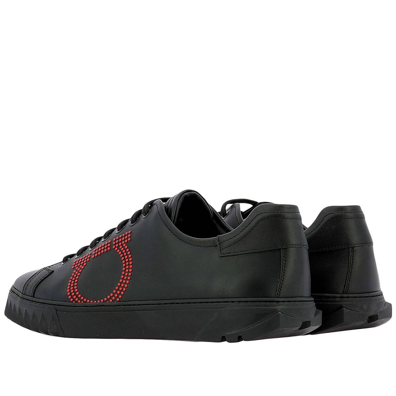 Chaussures homme Salvatore Ferragamo noir 3