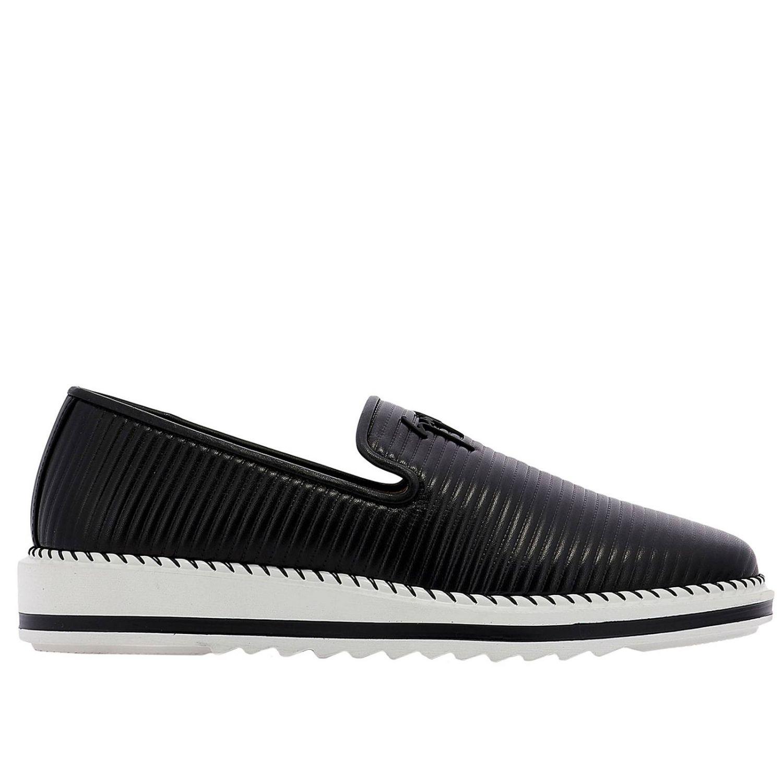 Shoes men Giuseppe Zanotti Design black 1