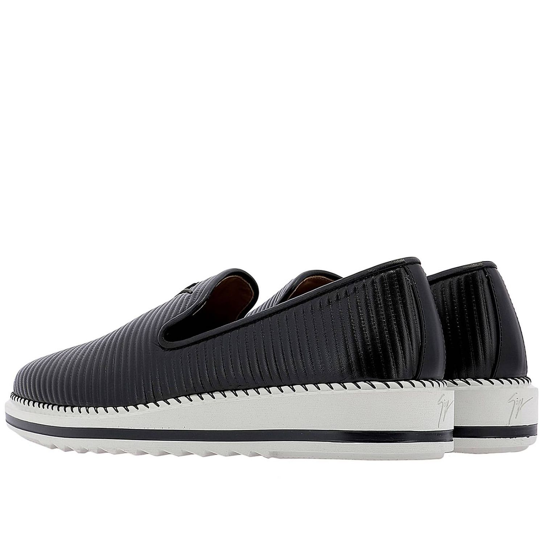 Shoes men Giuseppe Zanotti Design black 3