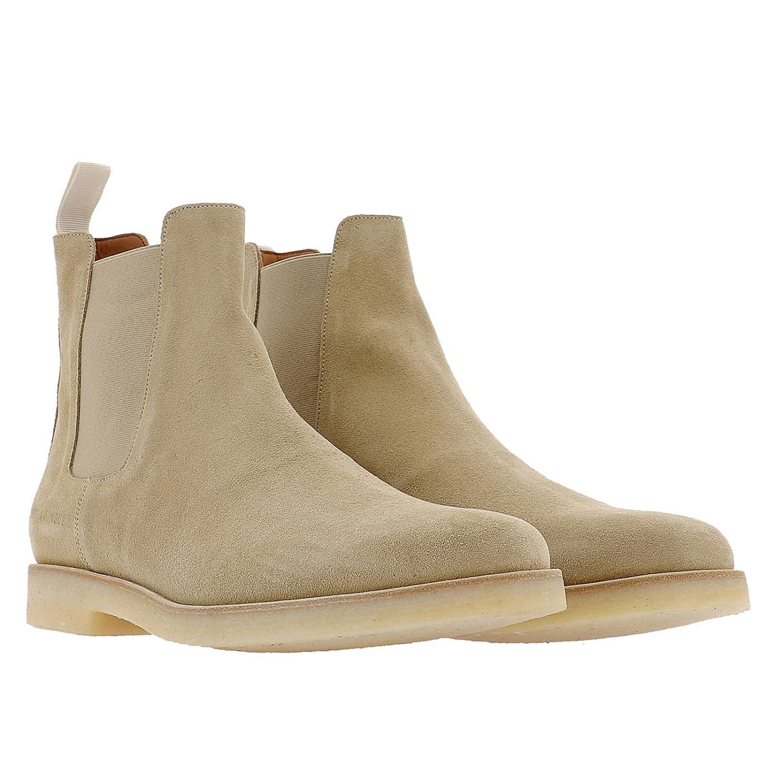 Zapatos hombre Common Projects beige 2