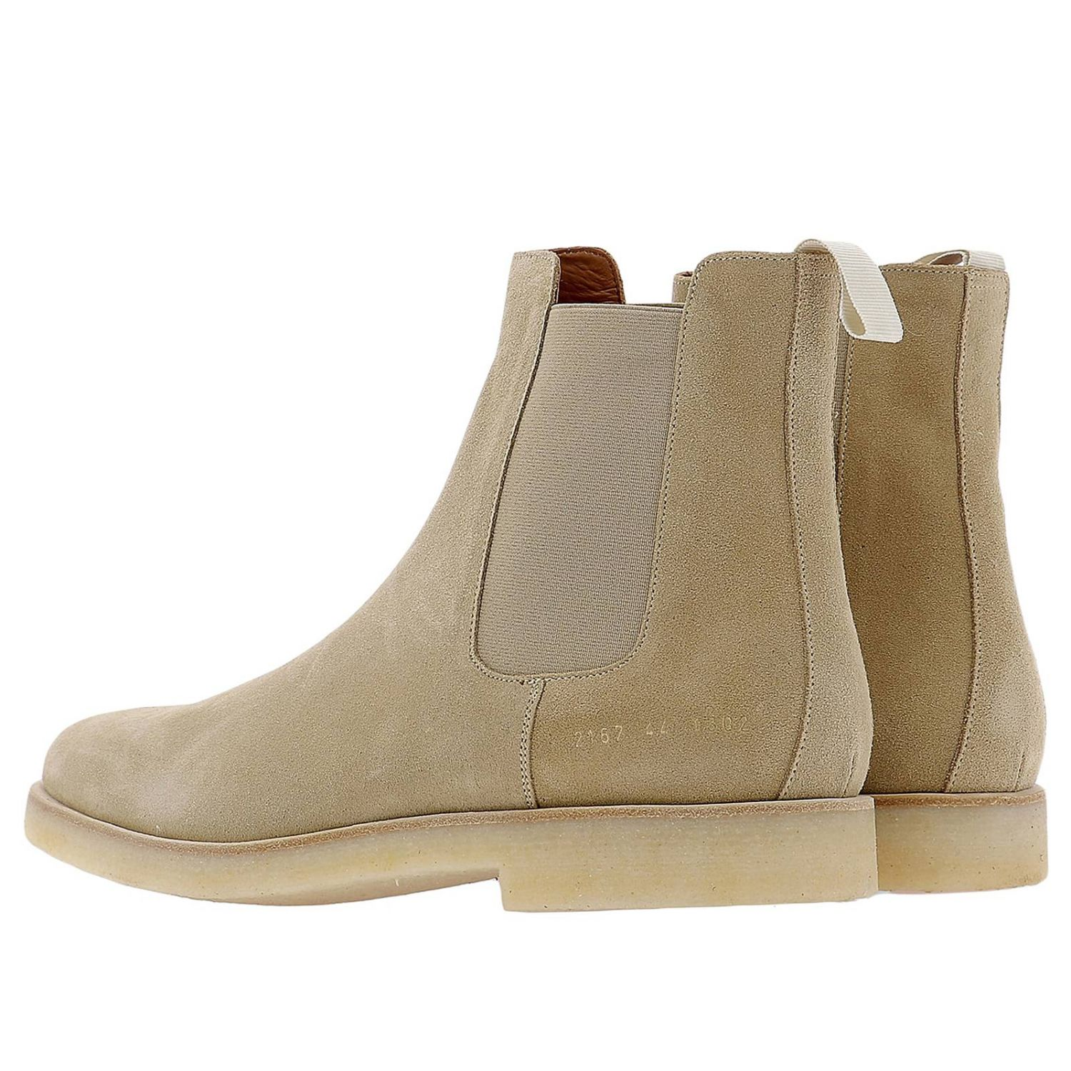 Zapatos hombre Common Projects beige 3