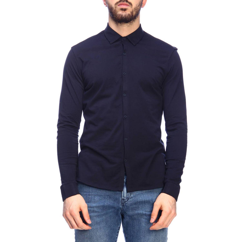Shirt men Napapijri blue 1