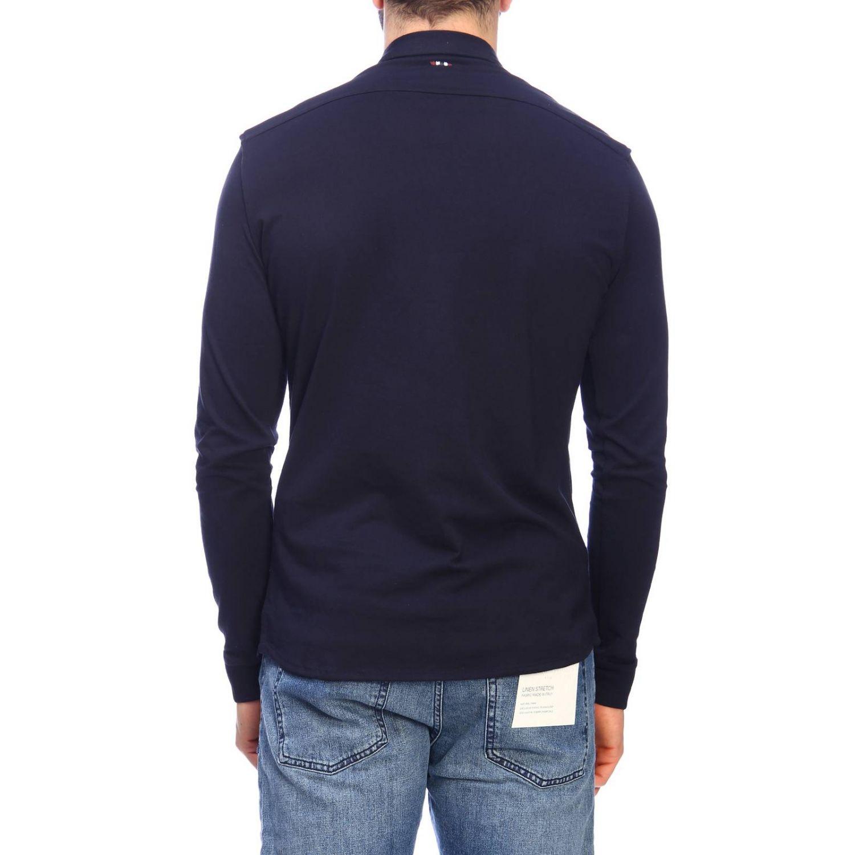 Shirt men Napapijri blue 3