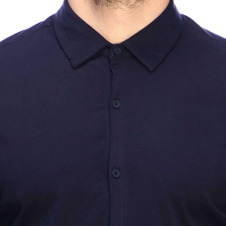 Shirt men Napapijri blue 4