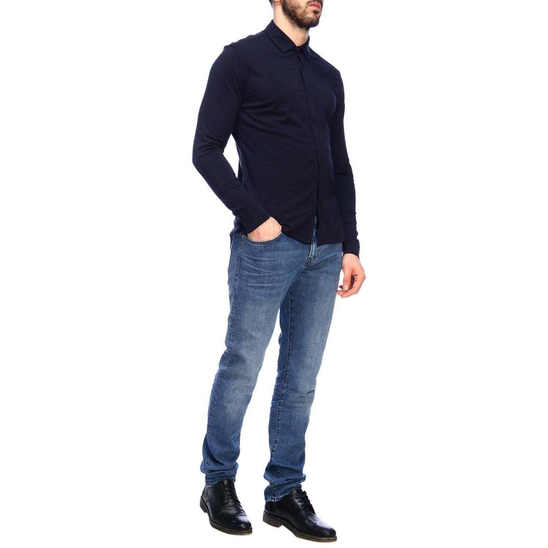 Shirt men Napapijri blue 5