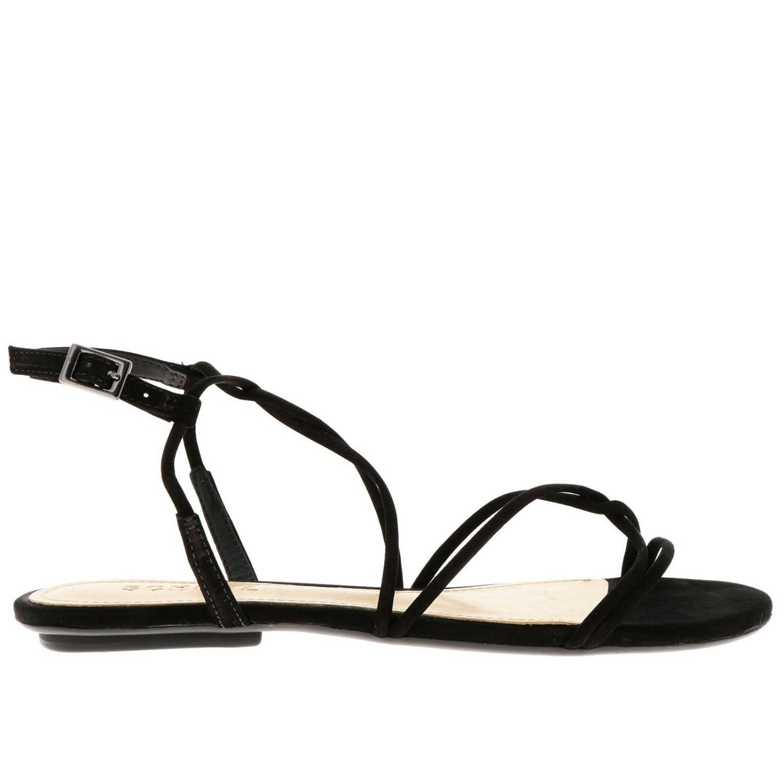平跟凉鞋 Schutz: 鞋 女士 Schutz 黑色 1