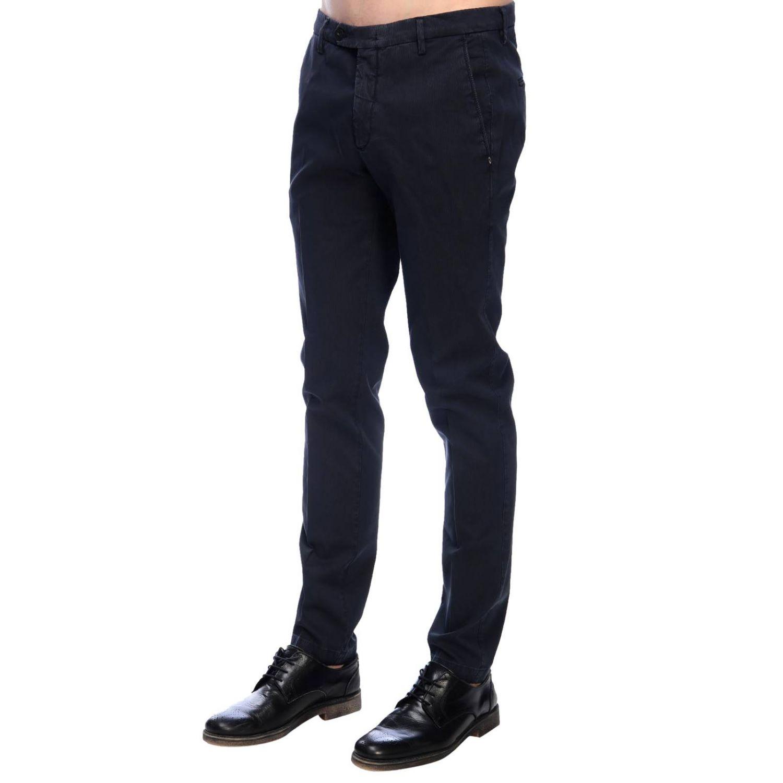 Pantalone Michael Coal classico con tasche america blue navy 2