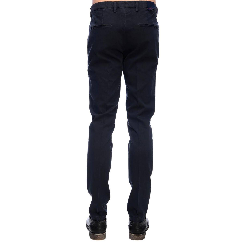 Pantalone Michael Coal classico con tasche america blue navy 3