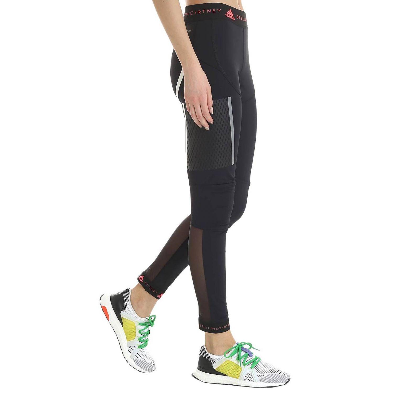 Pantalone Adidas By Stella Mccartney: Pantalone donna Adidas By Stella Mccartney nero 2