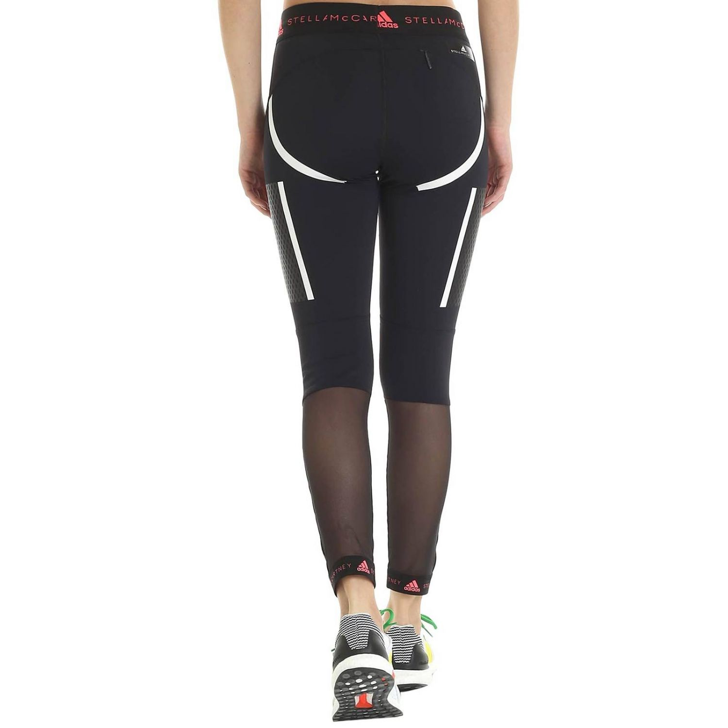 Pantalon Adidas By Stella Mccartney: Pantalon femme Adidas By Stella Mccartney noir 3