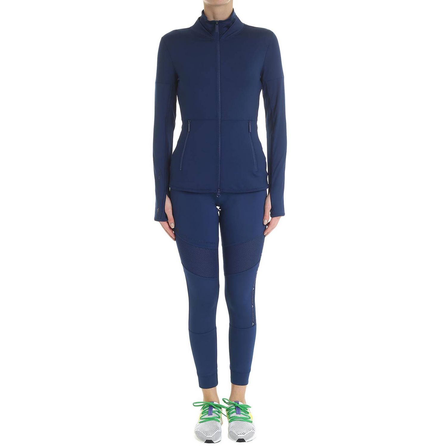 Футболка Adidas By Stella Mccartney: Футболка Женское Adidas By Stella Mccartney синий 5