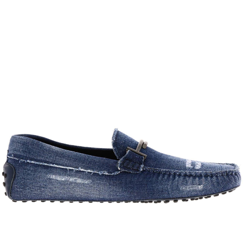 Shoes men Tod's blue 1