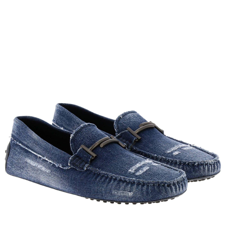 Shoes men Tod's blue 2