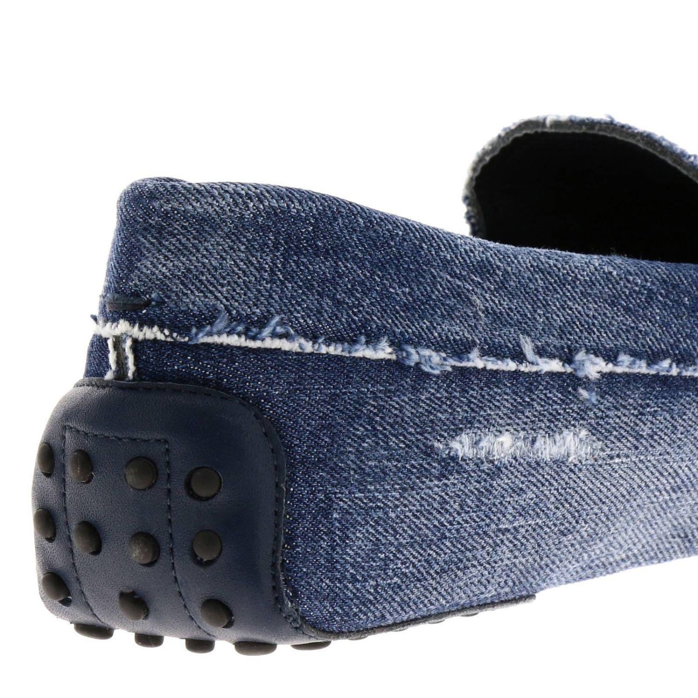 Shoes men Tod's blue 4