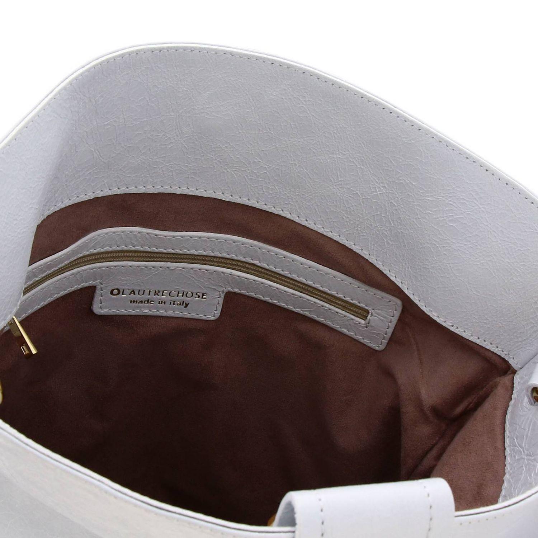 Crossbody bags L'autre Chose: Shoulder bag women L'autre Chose white 4