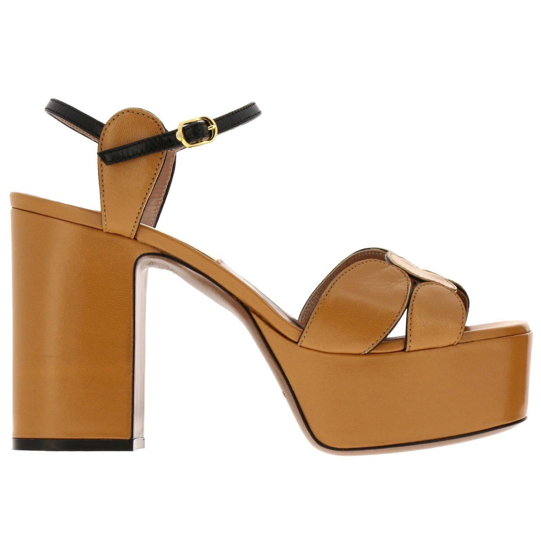 高跟凉鞋 女士 L'autre Chose 驼色 1