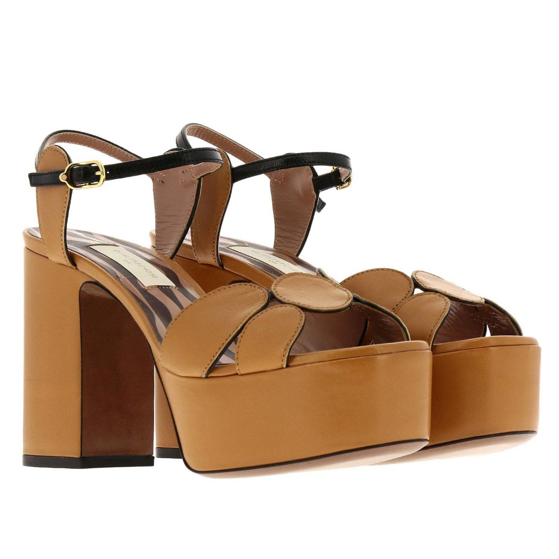 高跟凉鞋 女士 L'autre Chose 驼色 2