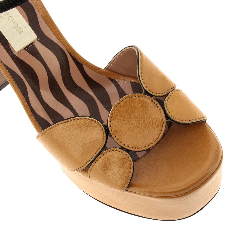高跟凉鞋 女士 L'autre Chose 驼色 3