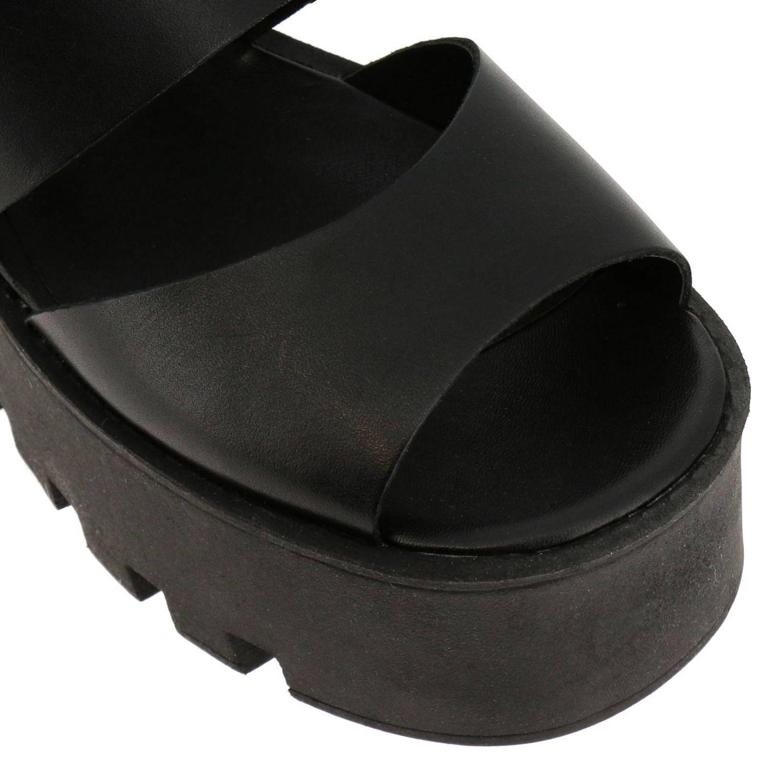 Босоножки на каблуке Женское Windsorsmith черный 3