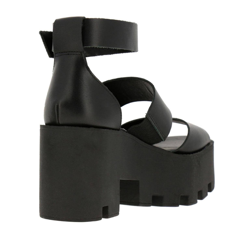 Босоножки на каблуке Женское Windsorsmith черный 4