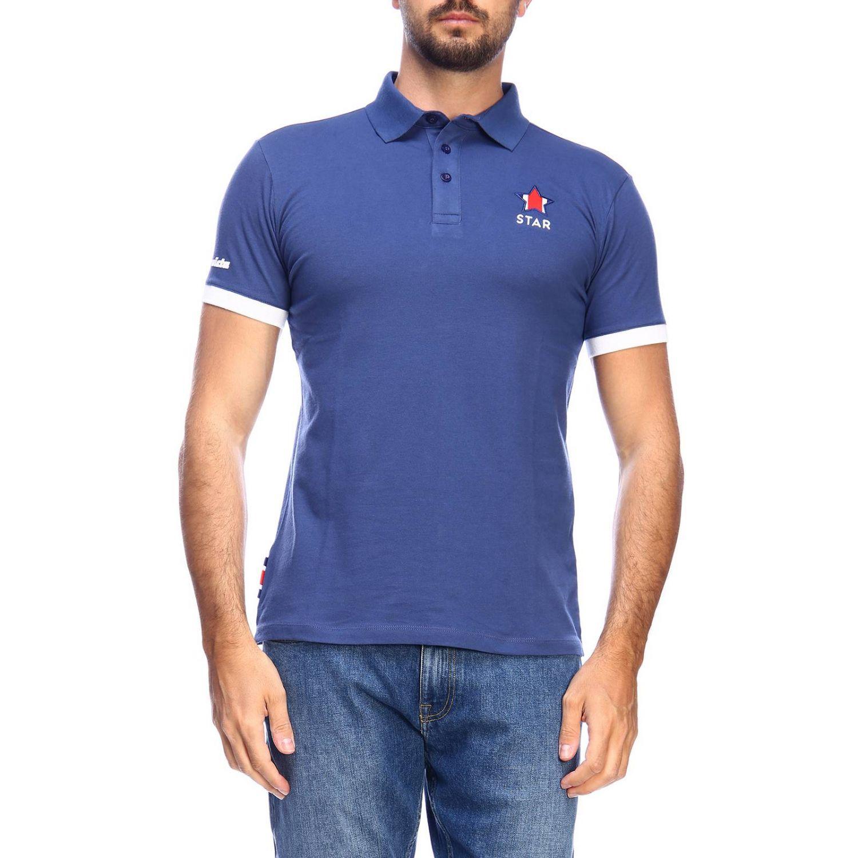 Polo shirt Invicta: T-shirt men Invicta blue 1
