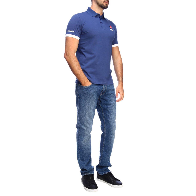 Polo shirt Invicta: T-shirt men Invicta blue 4