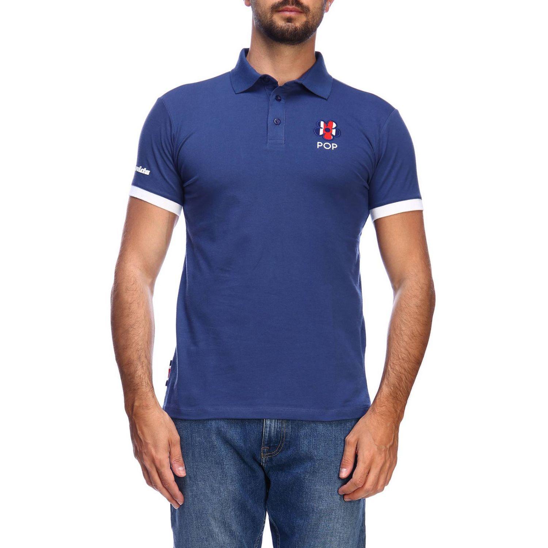 T恤 男士 Invicta 蓝色 1