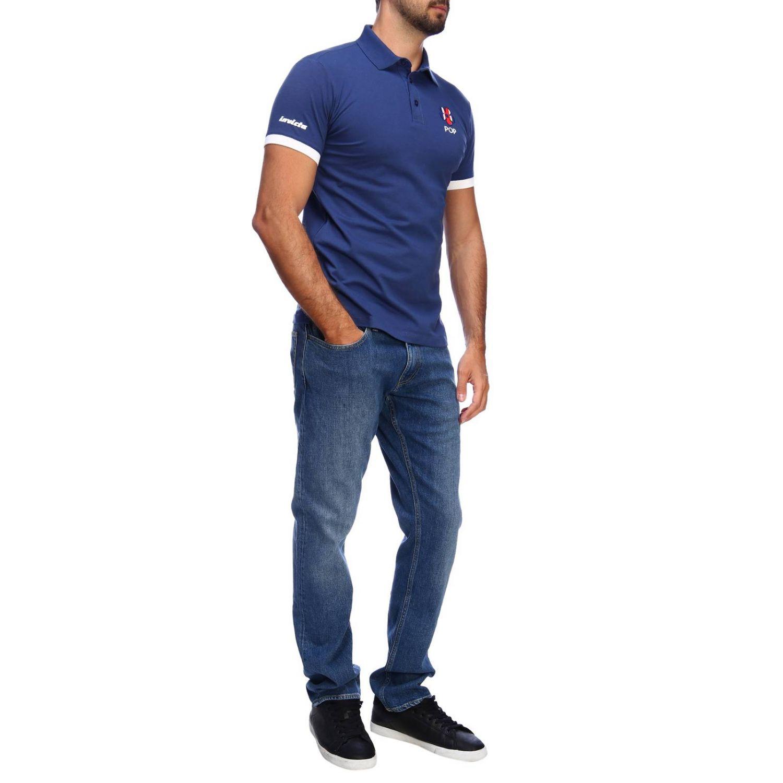 T恤 男士 Invicta 蓝色 4