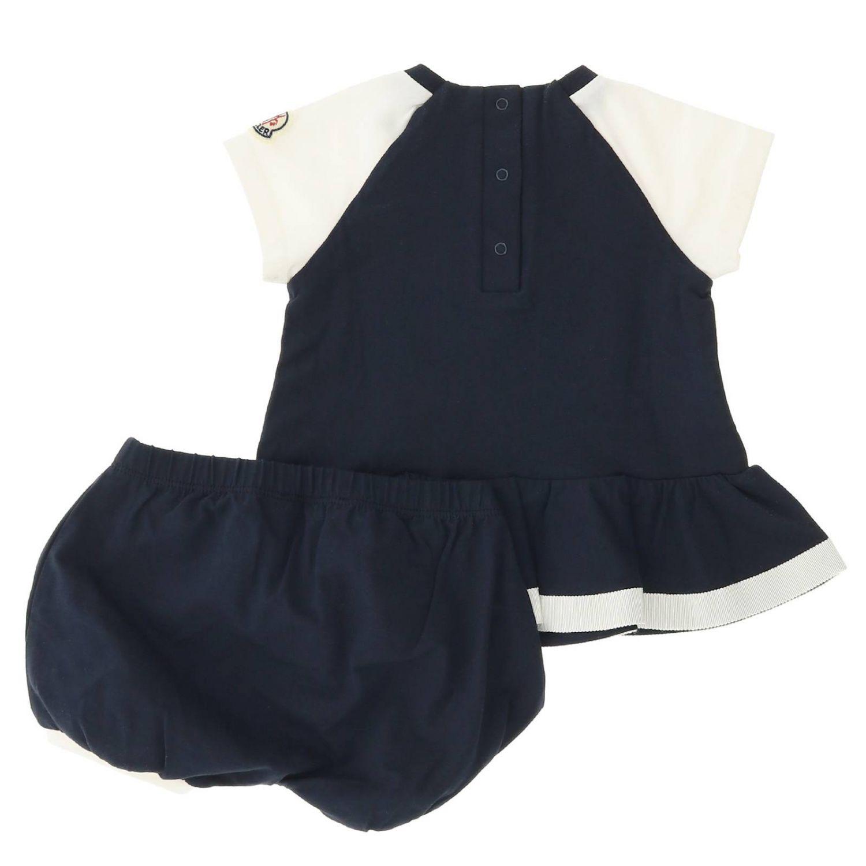 Completo Moncler: Completo bambino Moncler blue 2