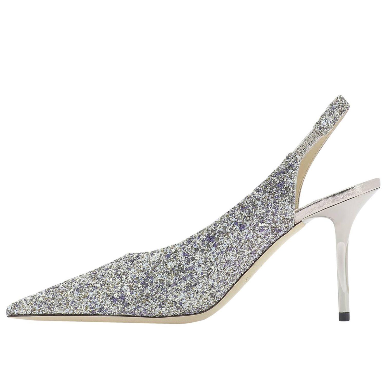 Shoes Women Jimmy Choo Pumps Jimmy Choo Women Platinum Pumps Jimmy Choo Ivy 85 Gtz Giglio En