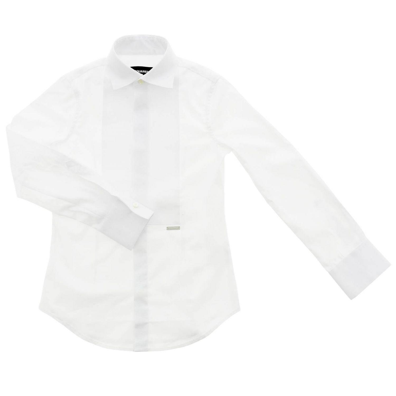 Shirt kids Dsquared2 Junior white 1
