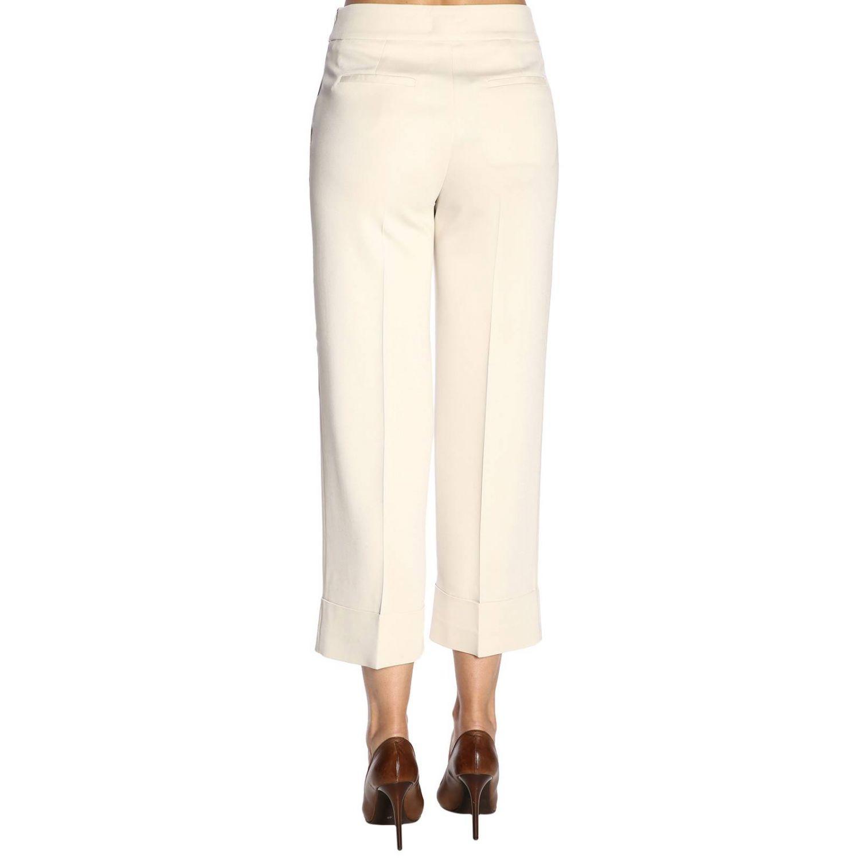 Pantalone donna Peserico panna 3