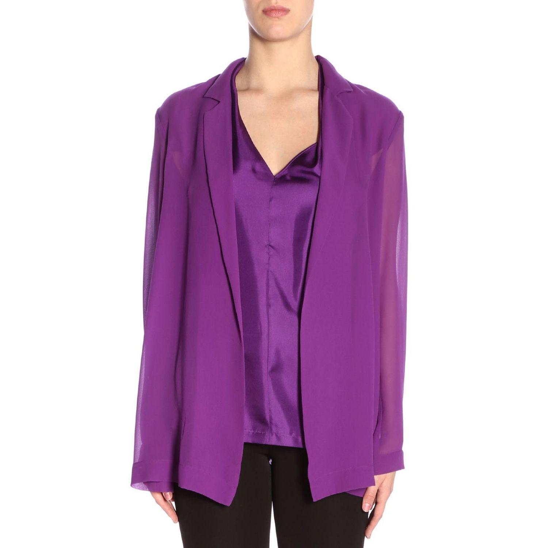 西服外套 女士 Alysi 紫色 1