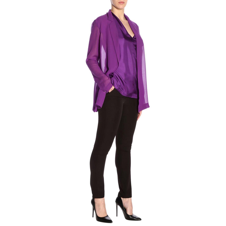 西服外套 女士 Alysi 紫色 4