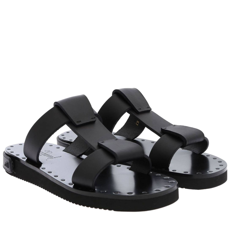 Flache sandalen damen Valentino Garavani schwarz 2