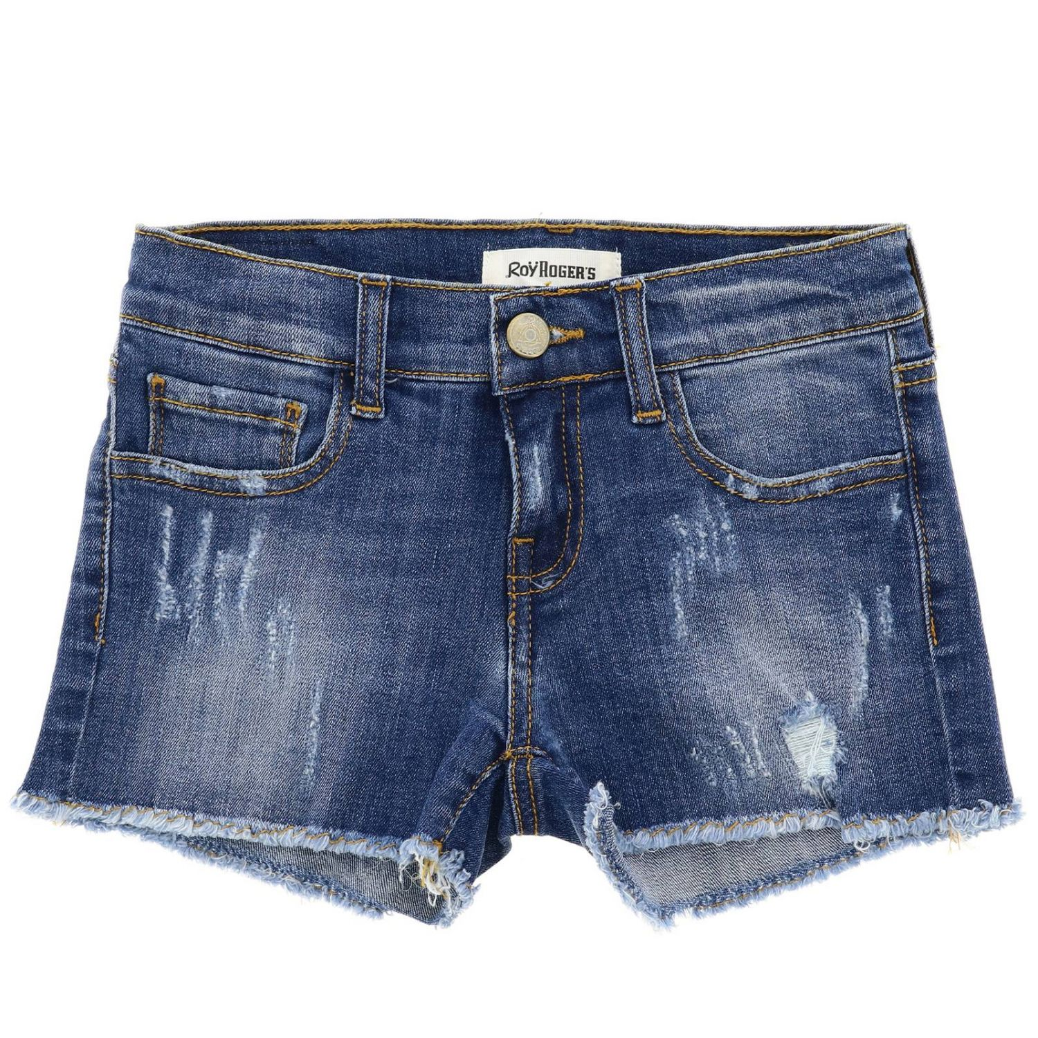 Short kids Roy Rogers denim 1