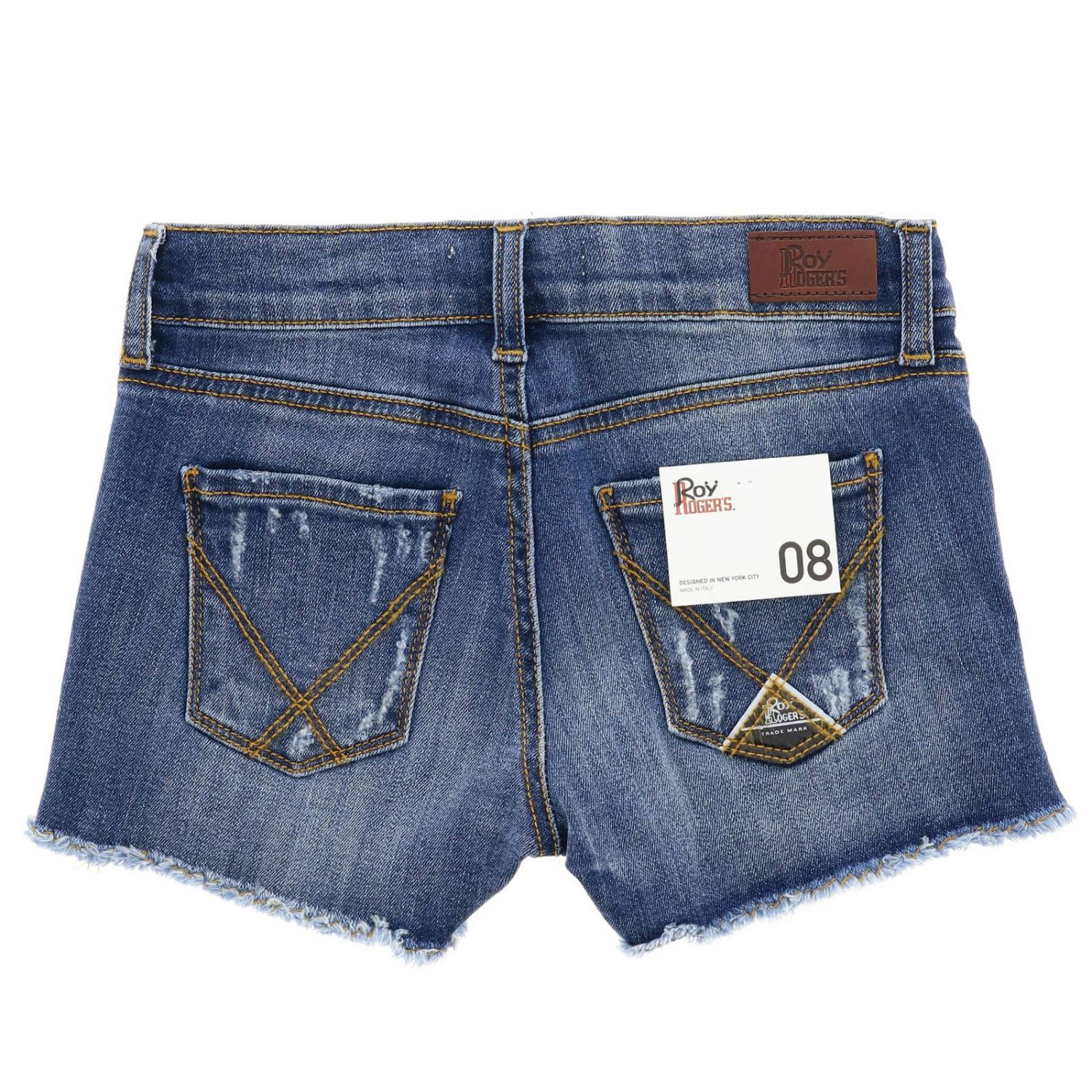 Short kids Roy Rogers denim 2