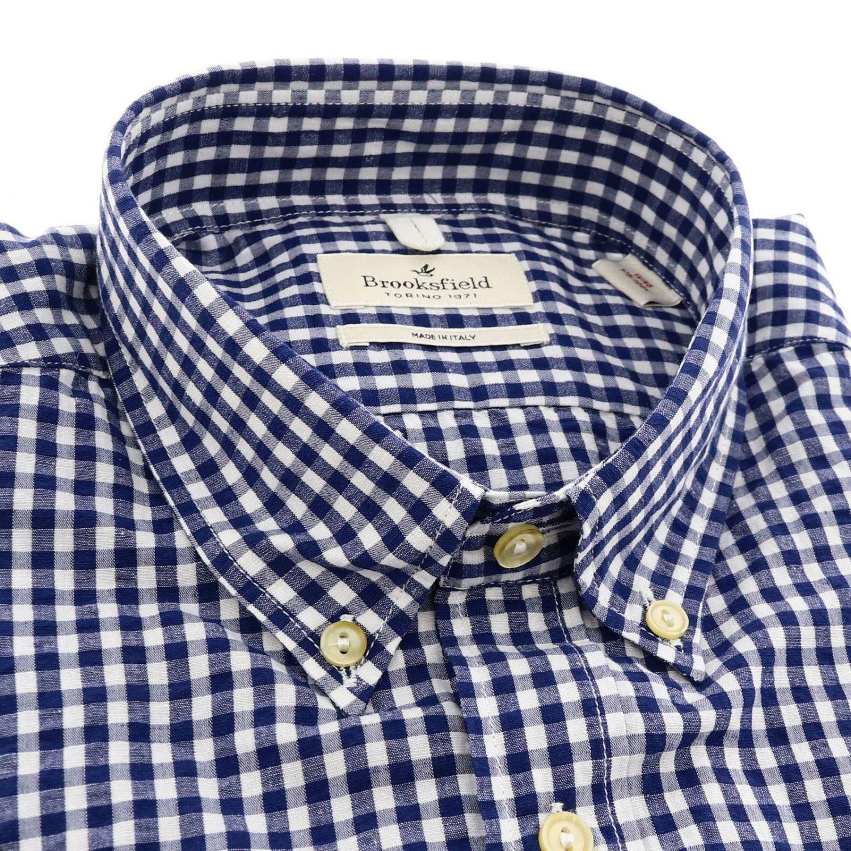 Shirt men Brooksfield blue 2